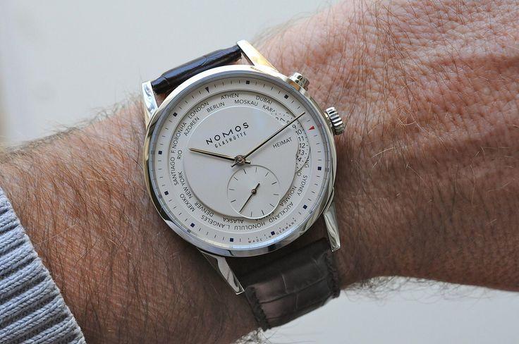 World timer by Nomos