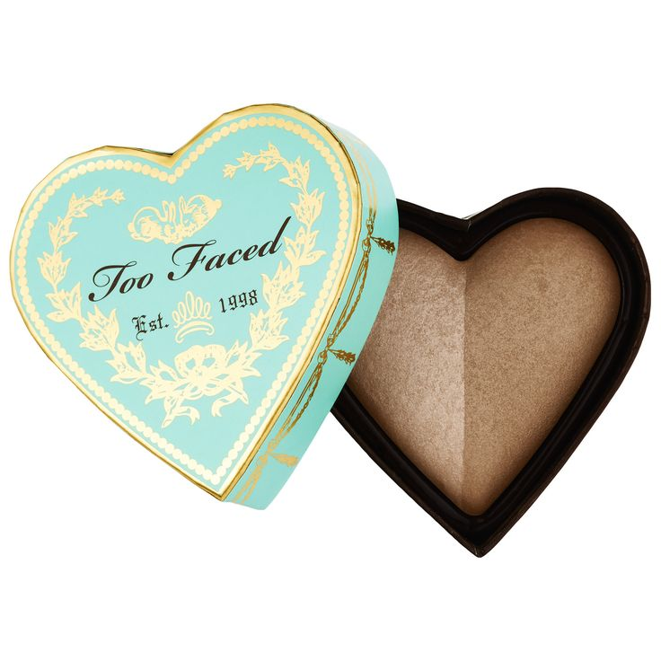 Shop Too Faced's Sweethearts Bronzer at Sephora. The baked bronzer includes two shades for a romantic, bronzed flush.