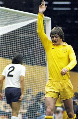 an Allan Clarke goal celebration