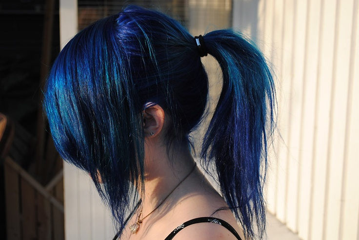 Directions brand hairdye- Midnight Blue(thats it this is officially the color I want my hair)