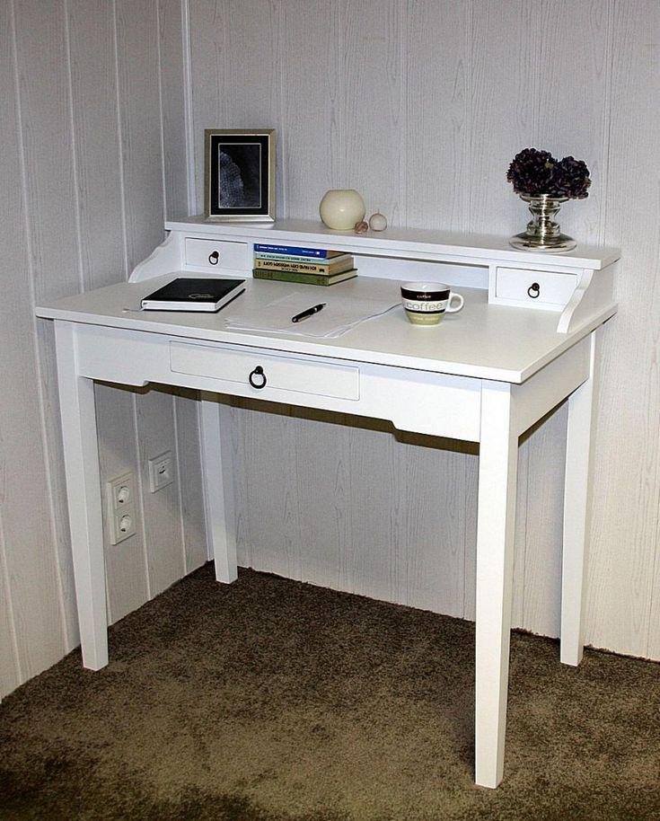 Schreibtisch holz weiß  Die besten 25+ Schreibtisch weiß holz Ideen auf Pinterest ...