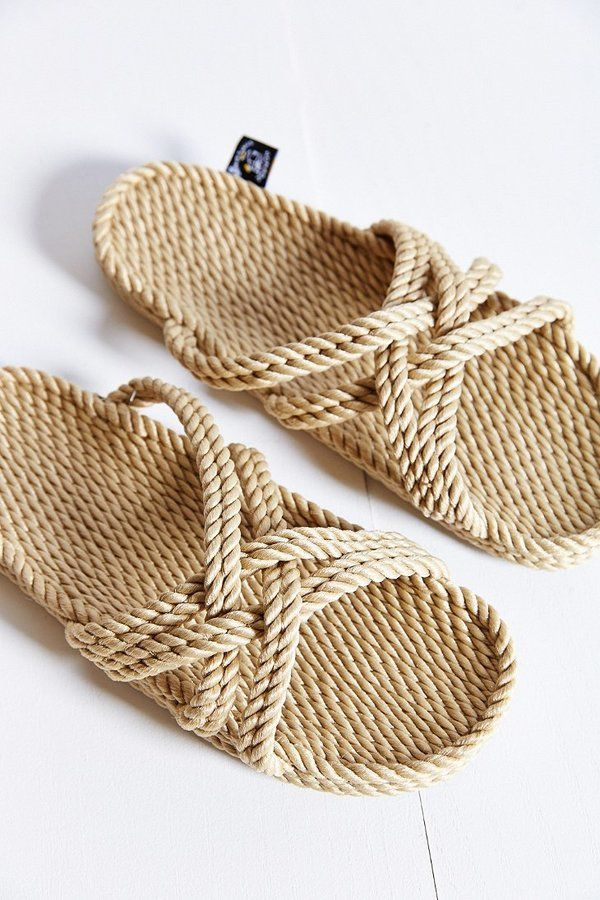 Nomadic State Of Mind Slide Sandal - I recall tweeting the super expensive version of these cord sandals approx. 1 month ago.