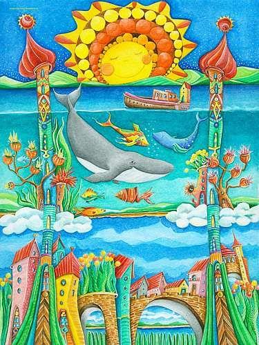 Luxury Sonja Mengkowski Atlantis Mit einem Klick auf uAls Kunstkarte versenden u versenden
