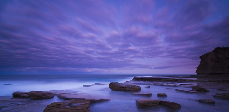 Skillion Purple Sunset by Darren Rickett / 500px
