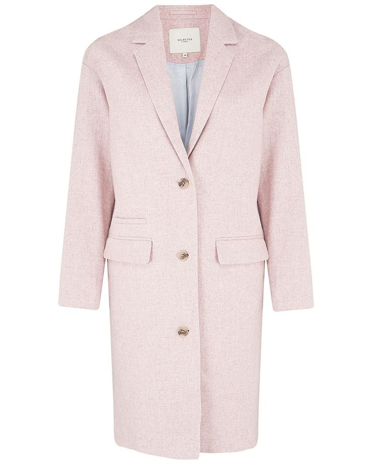 Light Pink Philly LS Coat - Atterley Road