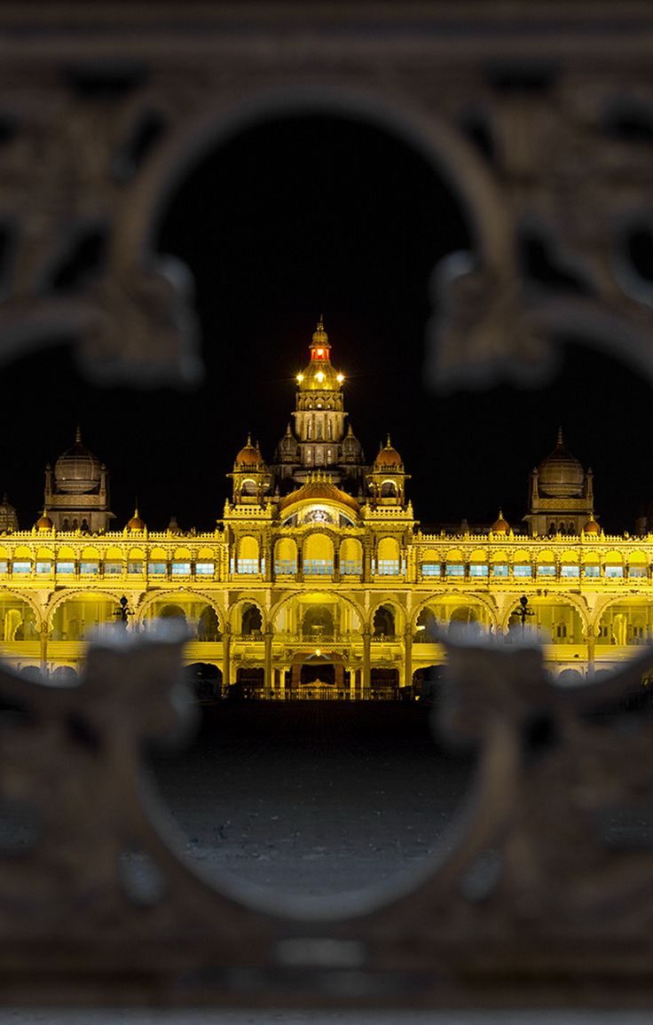 Mysore Palace ~ India                                                                                                                                                      More