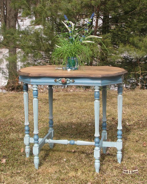 Peachy Table Entry Side End Accent Table Shabby Chic Cottage Home Interior And Landscaping Palasignezvosmurscom