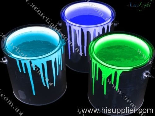 Paint Cans Dripping Of Colorful Glow Paint Lighten Up