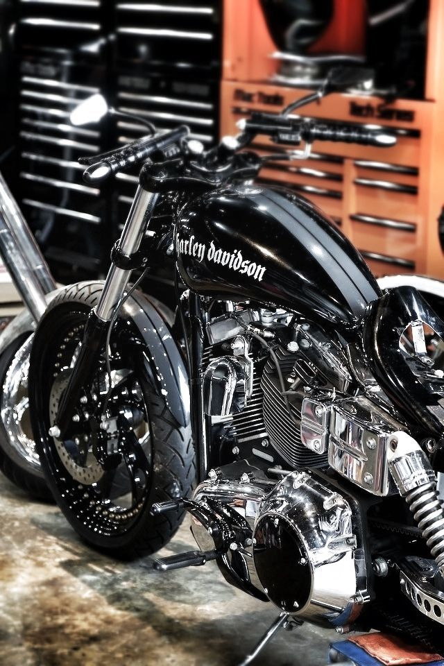 This is a cool harley