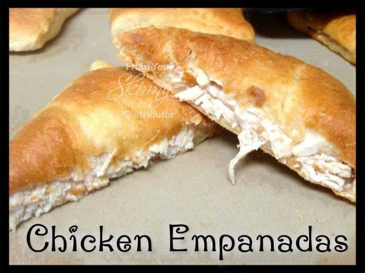 Ingredients:  2 pounds chicken breast (shredded)  1 cup cream cheese  ½ cup salsa  Dash of salt, pepper, onion powder, garlic powder for seasoning  ¼ cup organic low-sodium chicken stock  2 cans of Pillsbury Croissant Rolls    Directions  1. Put the chicken stock in a