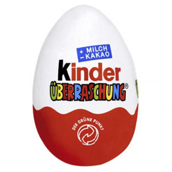 how to bring kinder eggs into the us