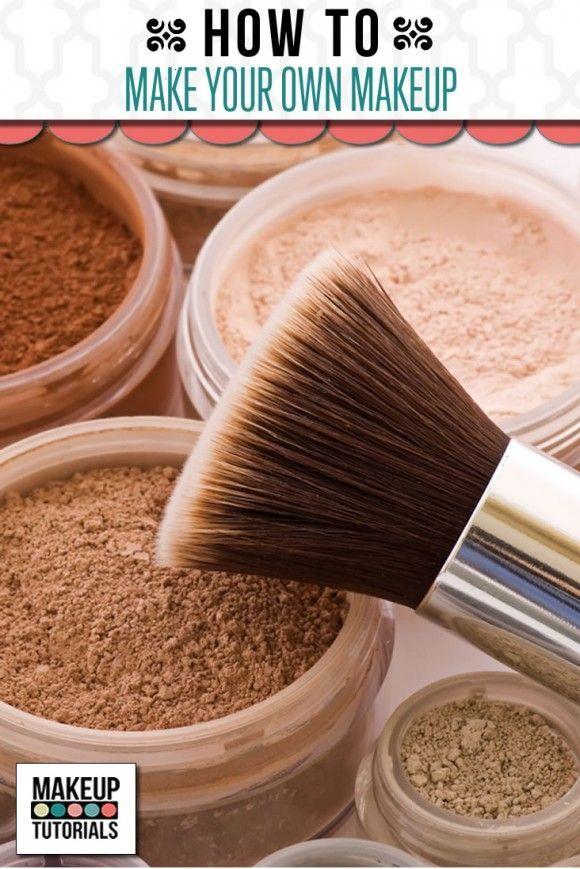 DIY makeup recipes , homemade makeup tutorial tips & ideas . | http://makeuptutorials.com/makeup-tutorial-how-to-make-your-own-makeup/