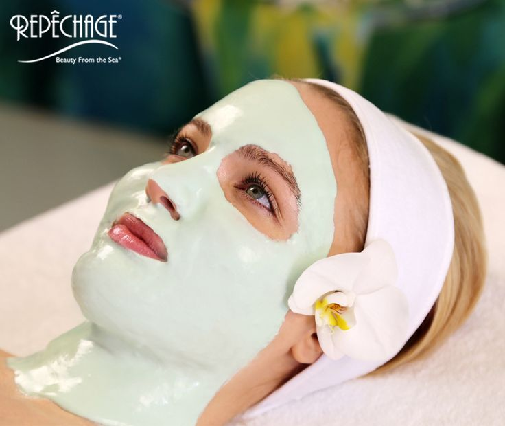 Esthetician facial massage