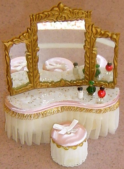 Petite Princess Doll House Furniture. Got mine as a kid filled out the collection as an adult. I love it.
