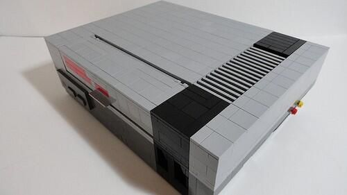 NES made of legos