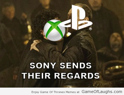Sony send their regards #gameofthrones