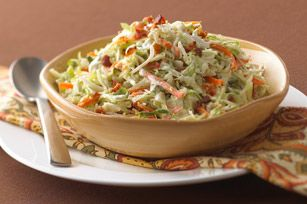 Salade de chou campagnarde avec bacon