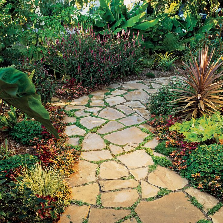 25 Lovely Diy Garden Pathway Ideas: 25+ Best Ideas About Flagstone Pavers On Pinterest