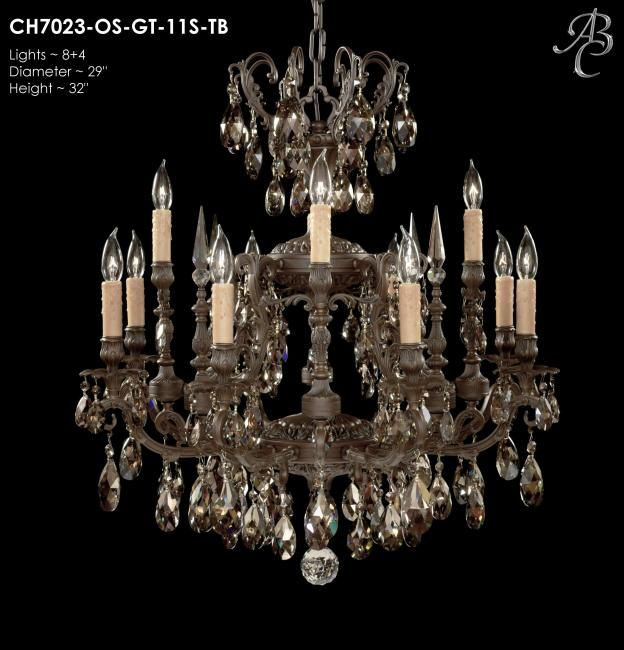 Read about parisian collection chandeliers and other fine lighting products here at american brass crystal lighting