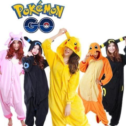 Unisex Adult Pokemon Pajamas -  https://glitterzoo.com/products/unisex-adult-pokemon-pajamas  Pokemon pajama party! Cosplay Pokemon characters!