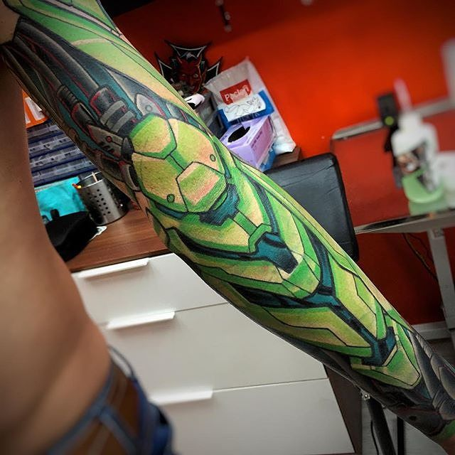 Top 25+ best Biomechanical tattoos ideas on Pinterest