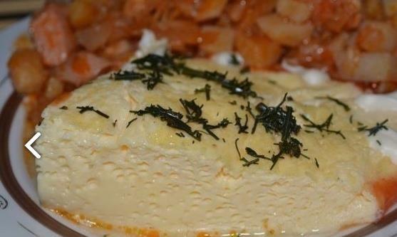 вареный в пакете омлет по вкусу как сливочный сыр