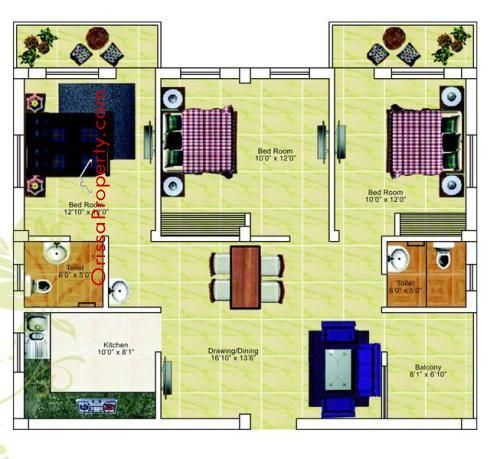 "#BuyingAHouseInIndia ... ""SAI KRISHNA RESIDENCY"" is one of the Residential apartment project of Safal Constructions Pvt. Ltd. near C.V.Raman Collage."