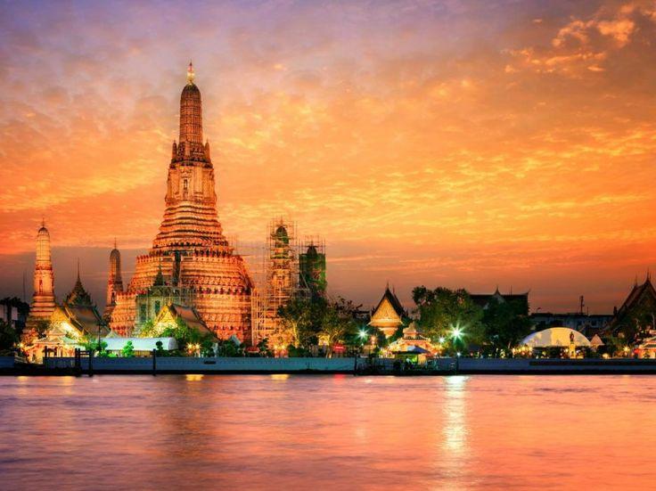 6. legszebb város a világon: Bangkok, Thaiföld