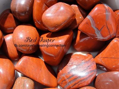 Red Jasper found world wide. It is fabulous for worries as it calms the emotions when held. It helps you remember your dreams when placed under your pillow. It builds up your immune system and keeps you healthy. It provides insight when in difficult situations and brings problems to light before they become too big.  Red jasper helps the blood, the circulatory system, liver, bile ducts and the aura. It also helps the base/root chakra