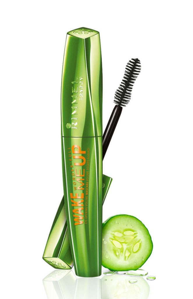 Rimmel Wonderfull Wake Me Up Mascara, black, 13.99 euro LE MASCARA FULL VITAMINES AU CONCOMBRE DE RIMMEL