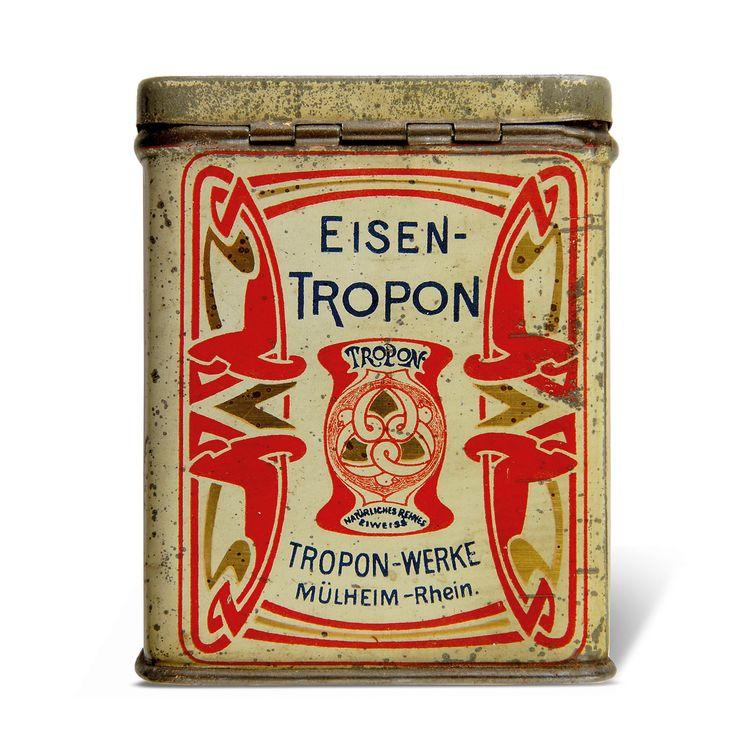 HENRY VAN DE VELDE. Eisen Tropon. 1898.