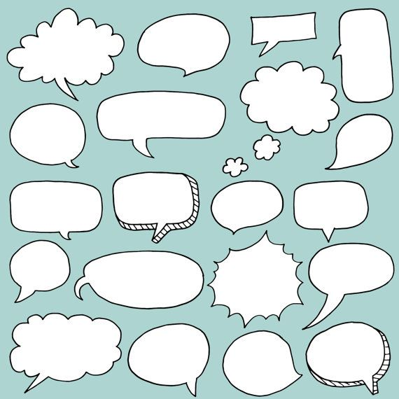 photo booth speech bubble template - clip art 20 speech bubbles diy invitations cards
