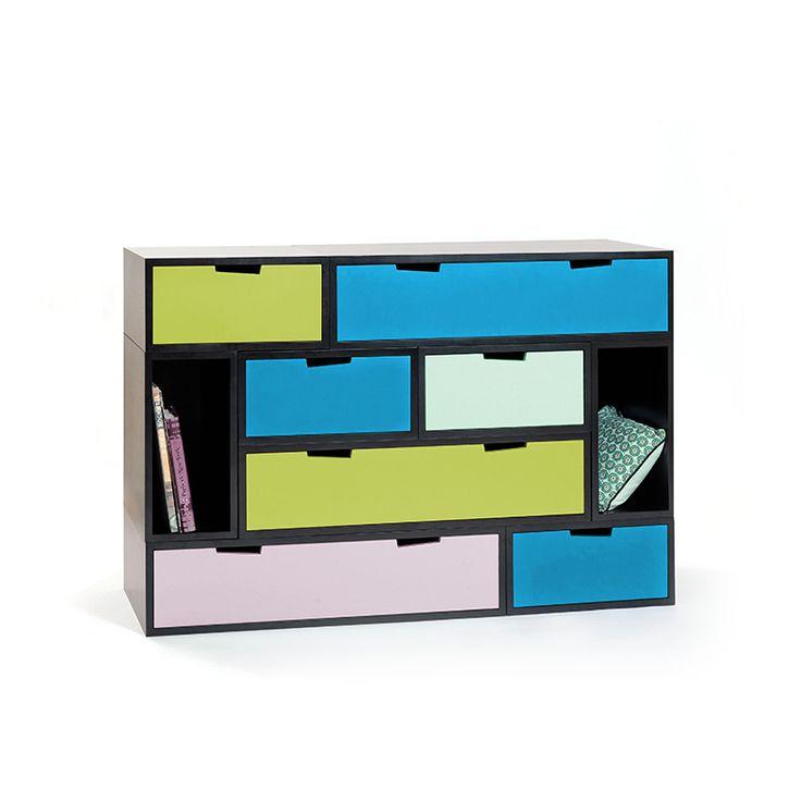 storage shelvings brick storage rangement modulable et personnalisable pour cr er son meuble. Black Bedroom Furniture Sets. Home Design Ideas
