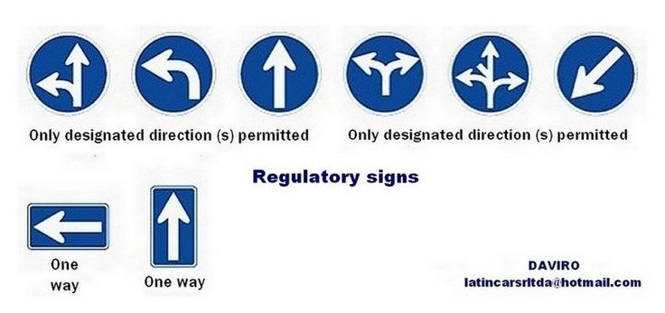 Japan Traffic Regulatory Signs