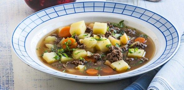 Meat and vegetable soup / Jauheliha−kasviskeitto, resepti – Ruoka.fi