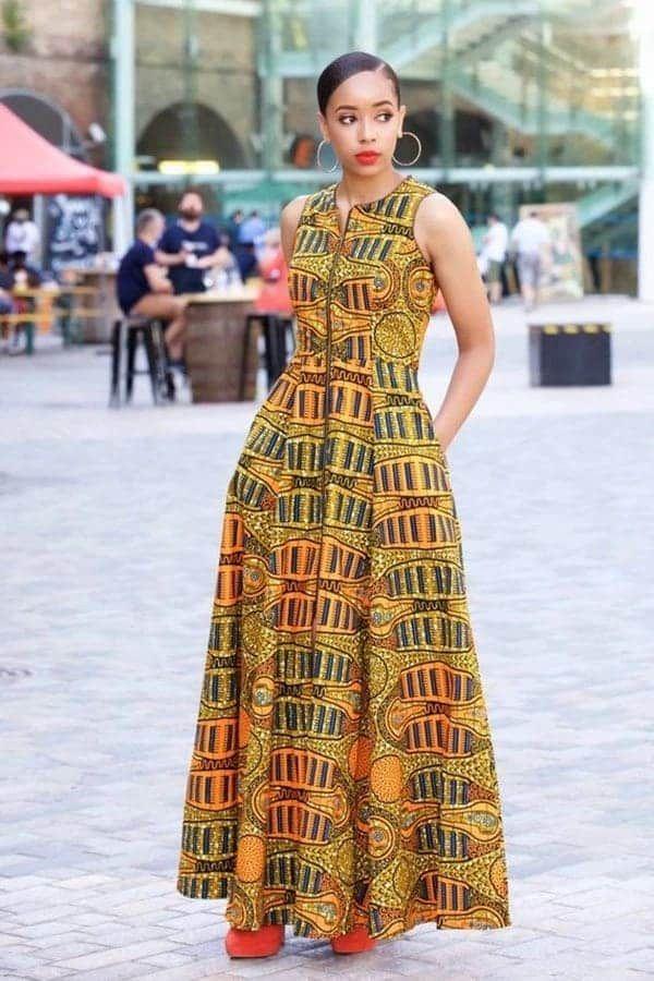 1da13b1180 Amazing African mishono ya magauni 2019 | Traditional Shweshwe ...