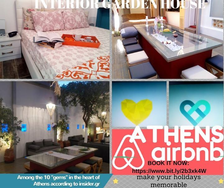 For this holiday season unlock Greece!  Visit Athens and make your stay memorable.  BOOK NOW: https://www.bit.ly/2b3xk4W  https://youtu.be/f3mm8Fdj4vI  #visitgreece #airbnb #livethere #accommodation #interiorgarden #living #inspiration #apartments #xmasvacation #trips