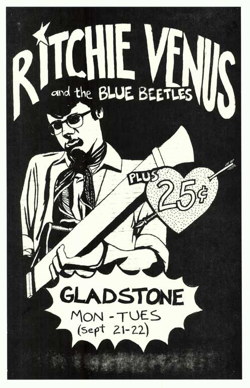Ritchie Venus and the Blue Beetles