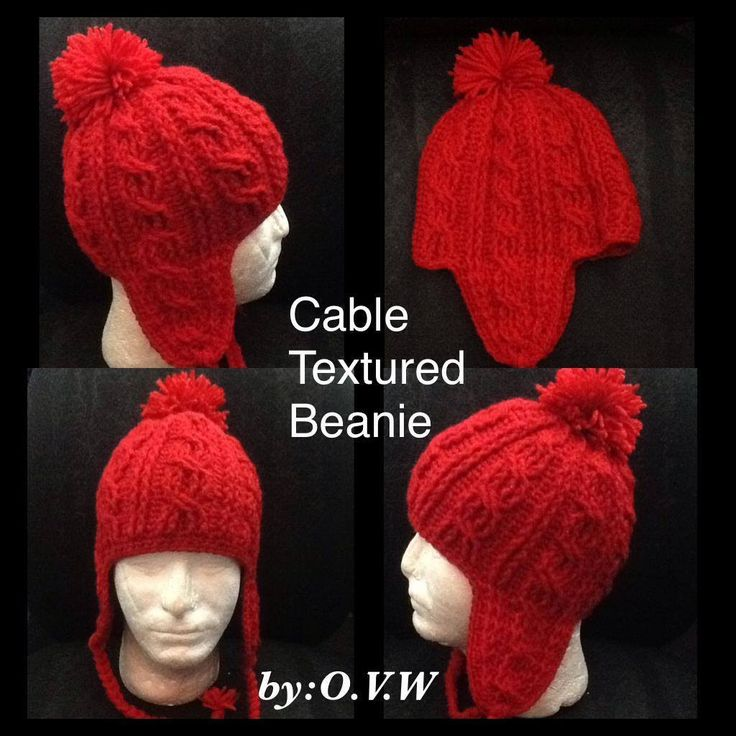 Cable Texture Beanie Part 1