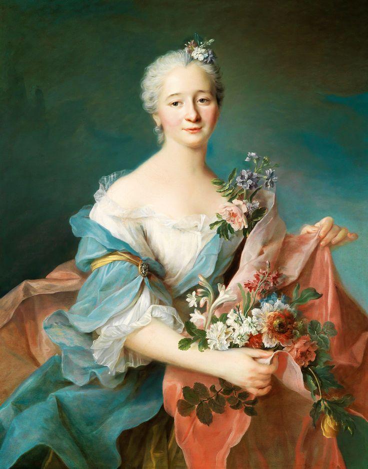 FRANÇOIS-HUBERT DROUAIS. Portrait of an Elegant Lady.