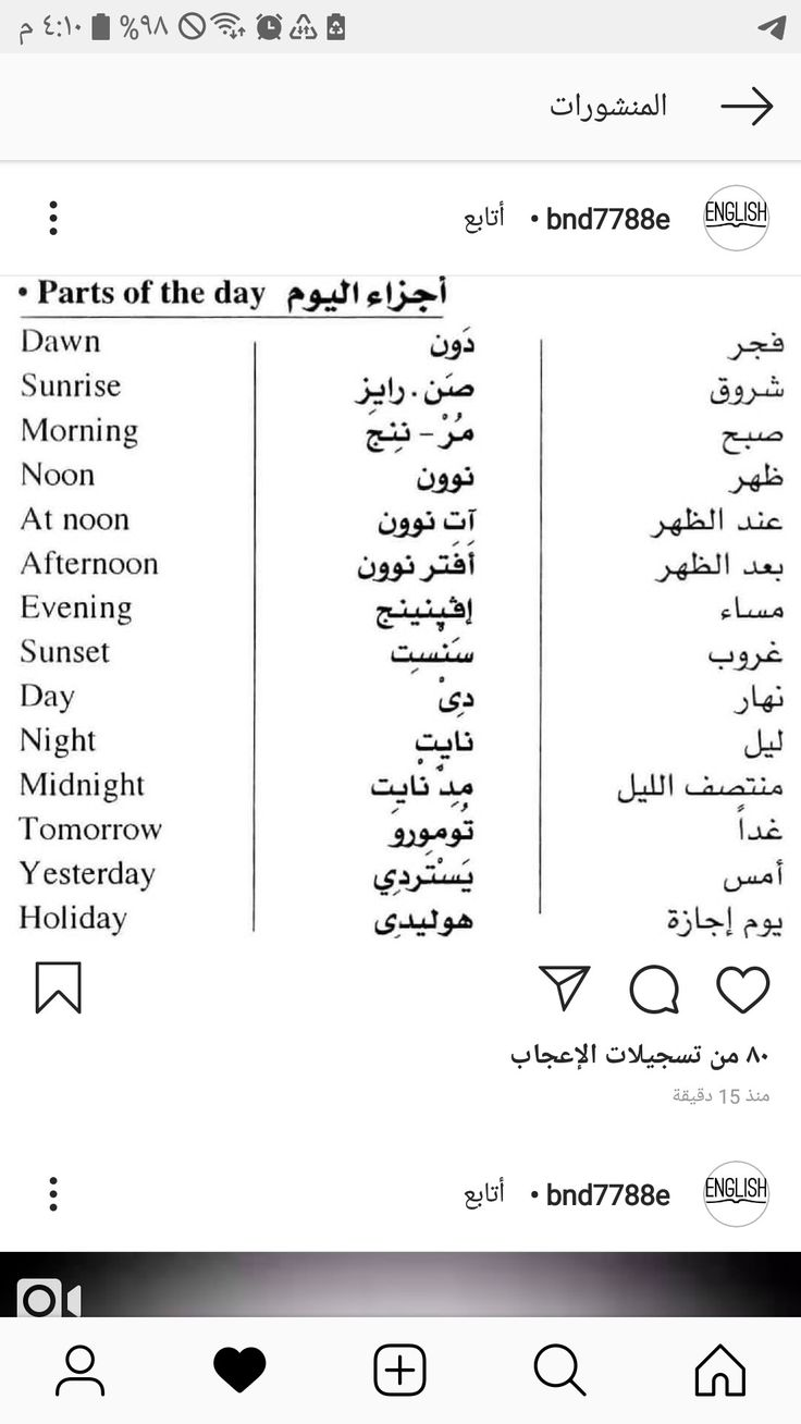 Learning Arabic Msa Fabiennem English Phrases English Vocabulary Words English Words
