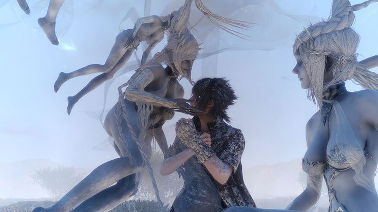 New Final Fantasy XV screenshots featuring Shiva Altissia and Chainsaw Weapons http://ift.tt/2eLpP2n