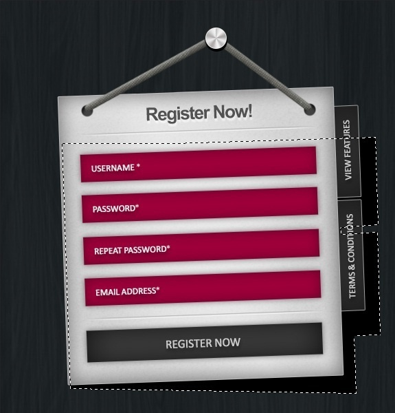 #Registrationform