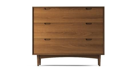 Ethan Wide Chest of Drawers - Walnut
