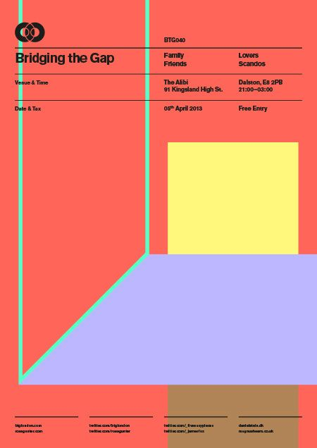 itsluxurymilk:  'BRIDGING THE GAP' Poster Series ByRoss Gunter