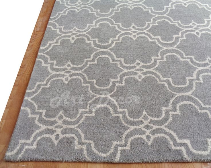 Sale Persian 8X10 Ebay Scroll Tiles Gray Woolen Area Rugs Carpet TraditionalPersianOriental