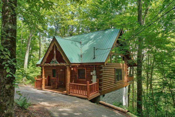 Moose Tracks Luxury 1 Bedroom Gatlinburg Cabin Rental Cabin Gatlinburg Cabin Rentals Gatlinburg Cabins