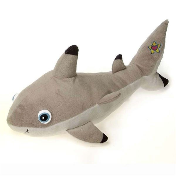 mirabella the light up baby shark stuffed animal by fiesta - Hai Kissen Muster