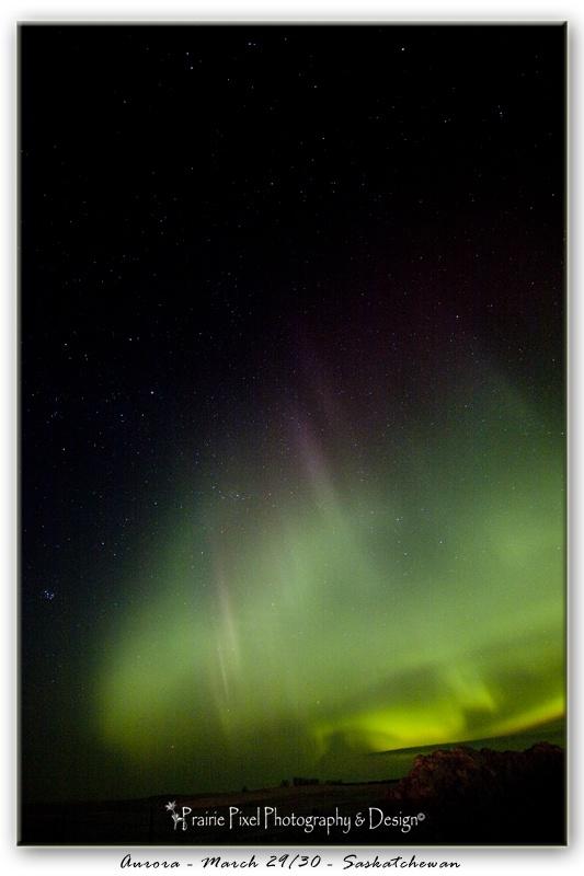 The beauty of the Aurora in Saskatchewan