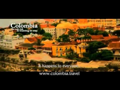 Colombia, the only risk is wanting to stay